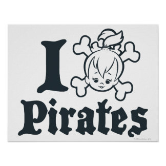 PEBBLES™ The Pirate Poster