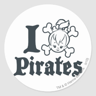 PEBBLES™ The Pirate Round Stickers