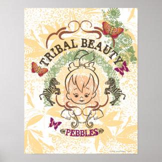 PEBBLES™ Tribal Beauty Poster