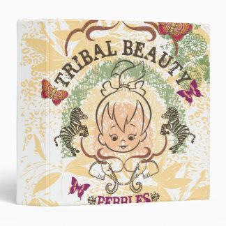 Pebbles Tribal Beauty Vinyl Binder