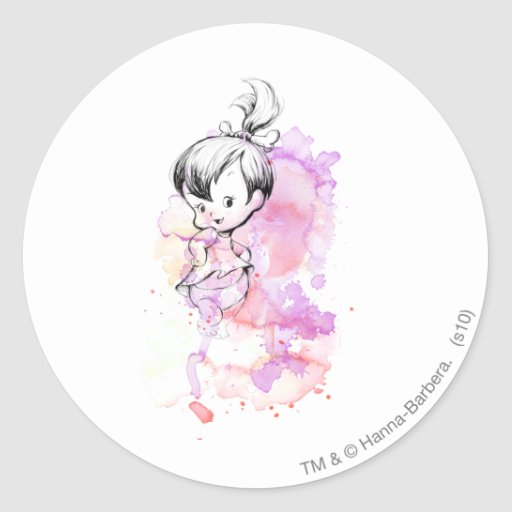 Pebbles Water Color Stickers