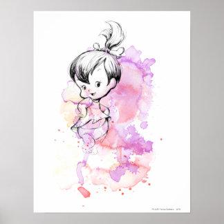 PEBBLES™ Watercolor Sketch Poster