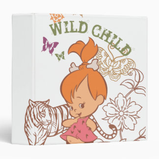 PEBBLES™ Wild Child 3 Ring Binder