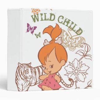 Pebbles Wild Child Binder