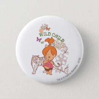 PEBBLES™ Wild Child Button