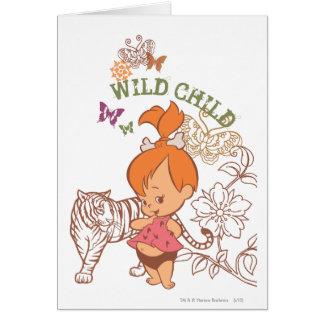 PEBBLES™ Wild Child Card