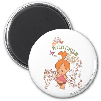 PEBBLES™ Wild Child Magnet