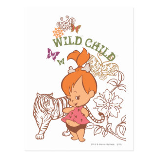 PEBBLES™ Wild Child Post Card
