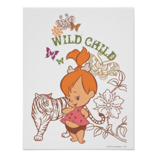 PEBBLES™ Wild Child Poster