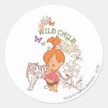 PEBBLES™ Wild Child Sticker