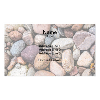 Pebbly Beach Business Card Template
