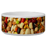 PEBBLY COLORFUL BEANS -  DOG BOWL