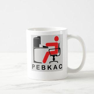 PEBKAC COFFEE MUGS