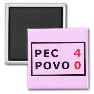 PEC - 4 Povo - 0 2 Inch Square Magnet