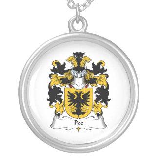 Pec Family Crest Custom Jewelry