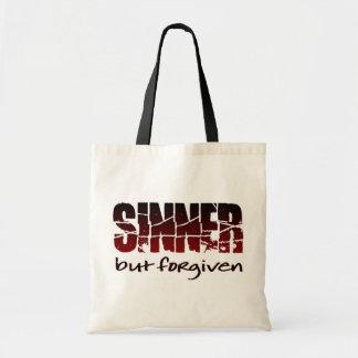 Pecador pero perdonado bolsas