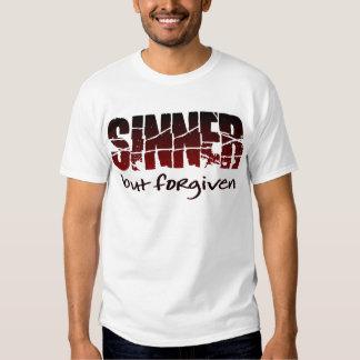 Pecador pero perdonado camisas