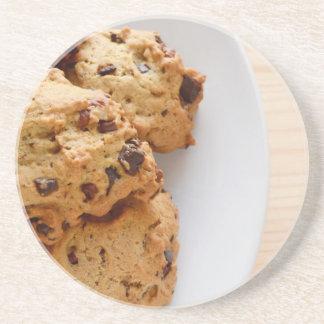 Pecan biscuits coaster