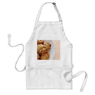 Pecan chocolate chip cookies adult apron