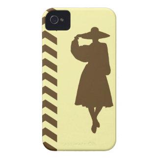 Pecan Cream Neutral Chevrons Fashion iPhone 4 Cover