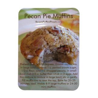 Pecan Pie Muffins Recipe on Refrigerator Magnet