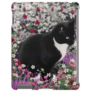 Pecas en flores II - Funda-Estera del gato del gat