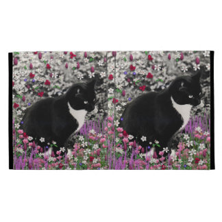 Pecas en flores II - gato de Tux