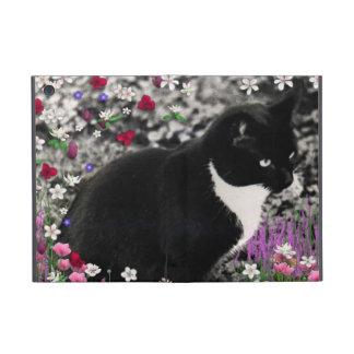 Pecas en flores II - gato del gatito del smoking iPad Mini Cárcasa