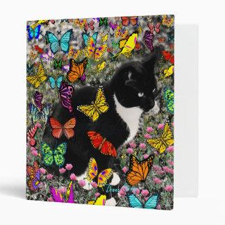 Pecas en las mariposas - gatito del smoking