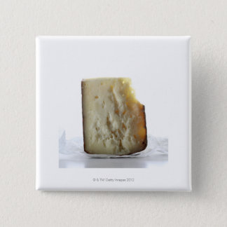 Peccorino Cheese Slice Pinback Button