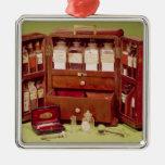 Pecho médico del químico de la familia de Dinnefor Ornaments Para Arbol De Navidad
