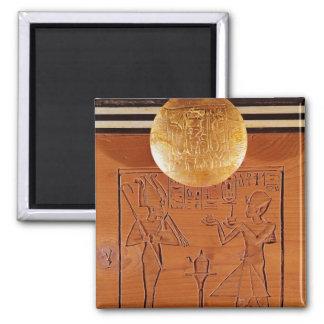 Pecho portátil, detalle de Tutankhamun Iman