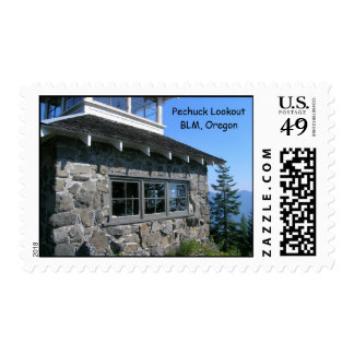 Pechuck Fire Lookout Postage