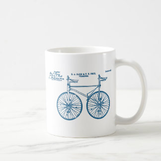 Peck en tándem del velocípedo 1891 de la bici taza clásica