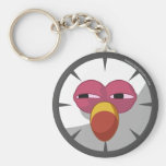 Peck Face Keychain