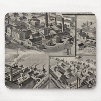 Peck, Stow & Wilcox factories Mouse Pad