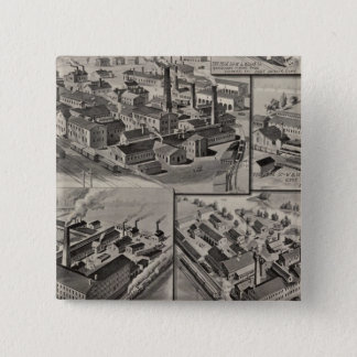 Peck, Stow & Wilcox factories Pinback Button