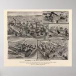 Peck, Stow & Wilcox factories Print