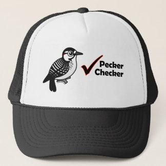 Pecker Checker Trucker Hat