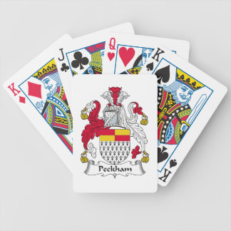 Peckham Family Crest Bicycle Playing Cards