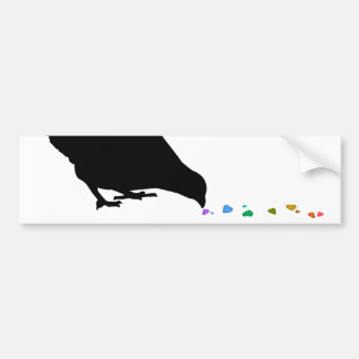pecking order. bumper stickers