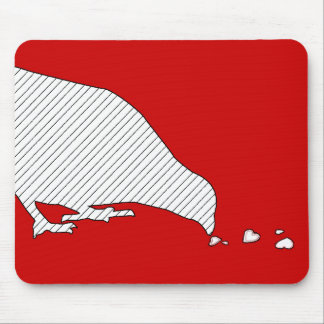 pecking order. mouse pad