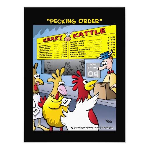 """""""Pecking Order"""" Photo"""