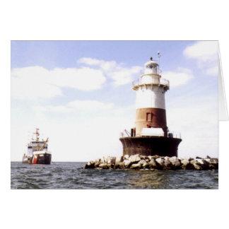 Pecks Ledge Lighthouse Card