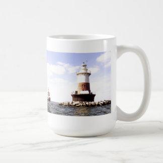 Pecks Ledge Lighthouse Coffee Mug