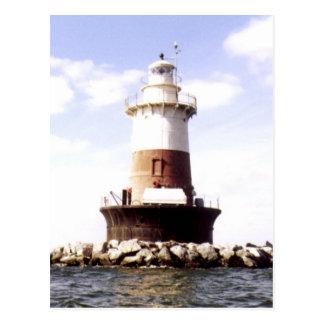 Pecks Ledge Lighthouse Postcard