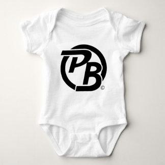 Pecky Boyz Logo ID (Black) Baby Bodysuit