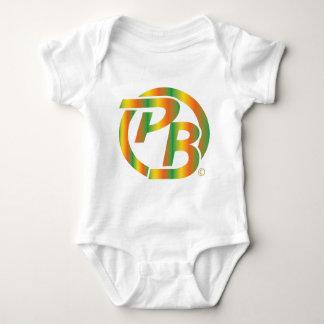Pecky Boyz Logo ID Multi Colored Baby Bodysuit