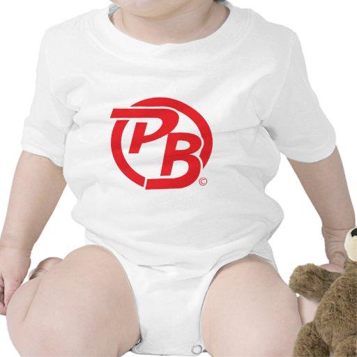 Pecky Boyz logo ID Red Tee Shirts