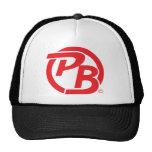 Pecky Boyz logo ID Red Trucker Hat